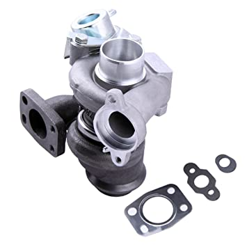 maXpeedingrods Turbocompresor TD025 49173 Turbo Coche Turbocharger for Peugeot 207/307/308 Expert 1.6