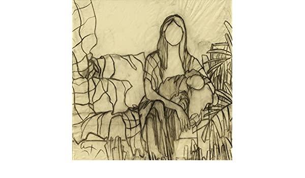 Amazon.com: Modern Art, Black and White Drawing, Still and ...