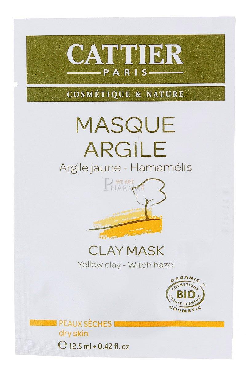 Cattier Masque à l'Argile Jaune Bio 100 ml 673A