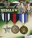 Forum Novelties Combat Hero Medals Standard