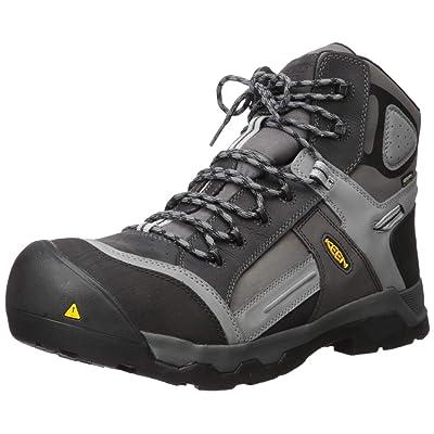 "KEEN Utility Men's Davenport 6"" 400g Ct Waterproof Industrial and Construction Shoe | Industrial & Construction Boots"