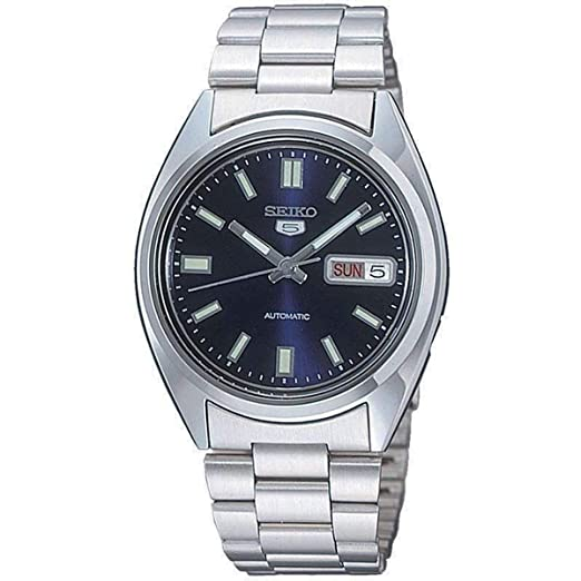b57aa80d9 Seiko Men's Analogue Automatic Watch with Stainless Steel Strap SNXS77K