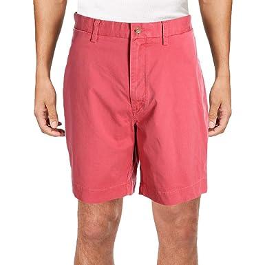 f3591b01b Polo Ralph Lauren Men s Green Classic-Fit Flat Front Stretch Shorts ...