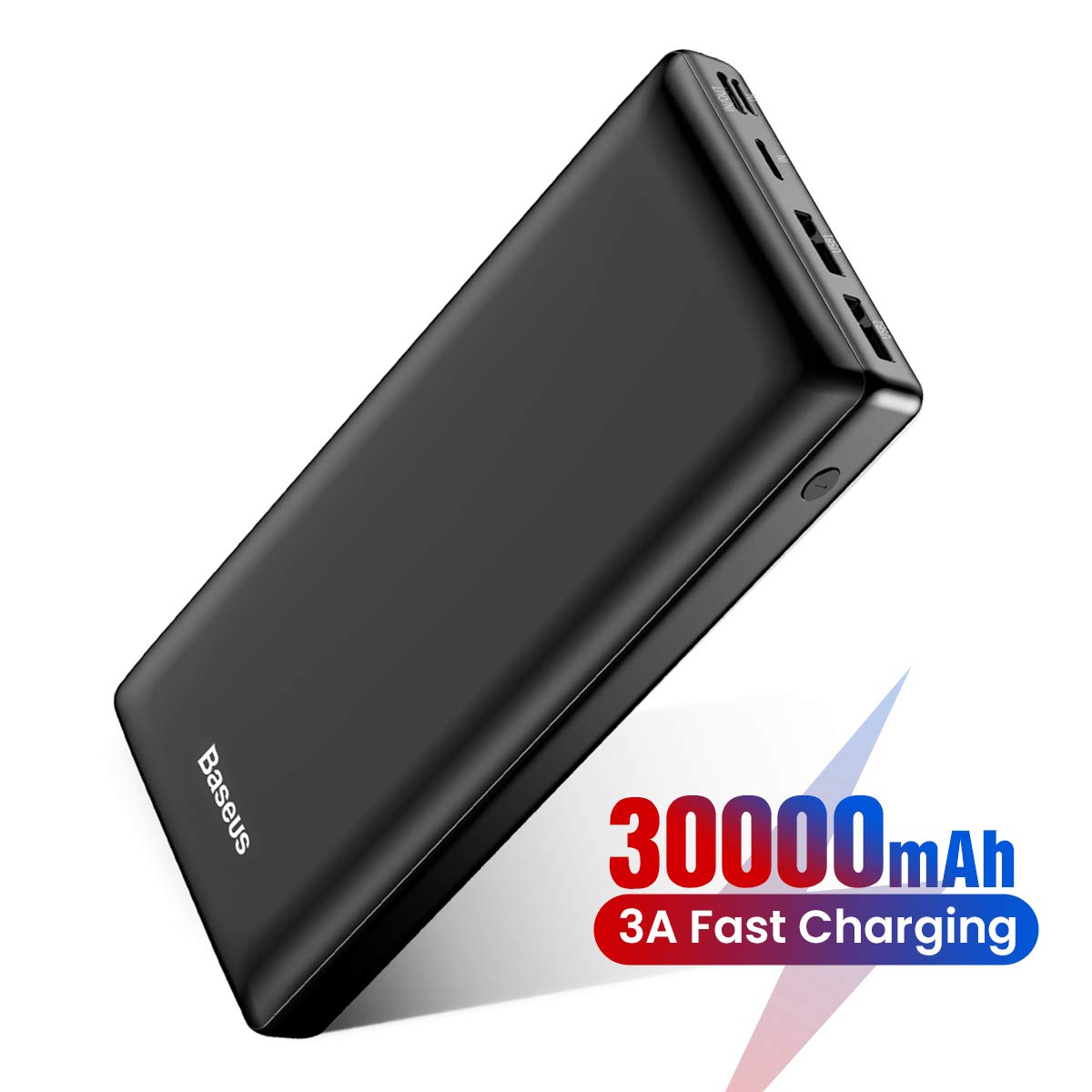 Baseus Power Bank, Caricatore Portatile 30000 mAh USB