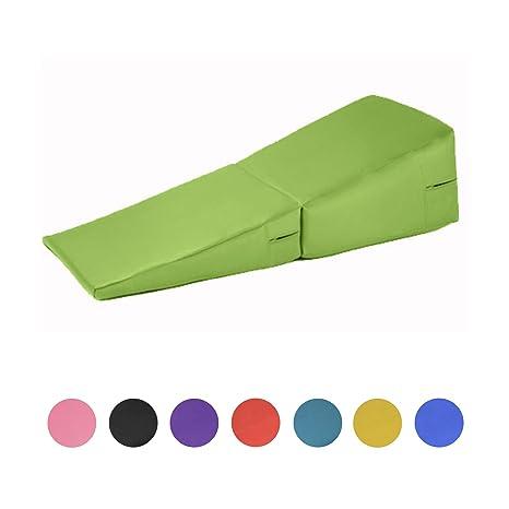 Verde Funda de piel sintética plegable Gimnasia colchoneta ...