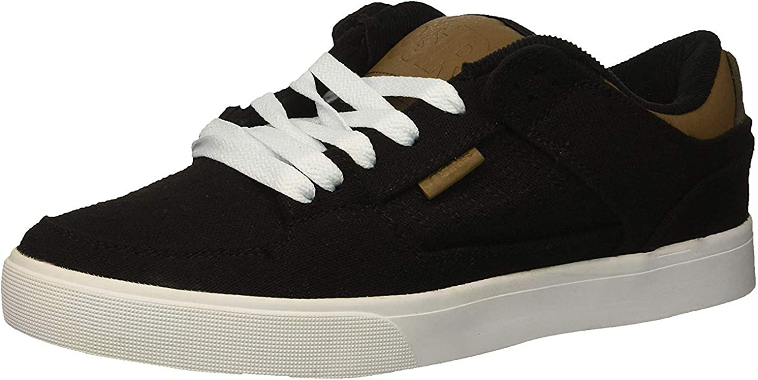 | #Osiris Protocol Black Wool Mens Skate Trainers