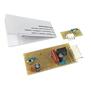 Ximoon Refrigerator Ice Control Board for Whirlpool 4389102 2198586 W10757851 W10193840