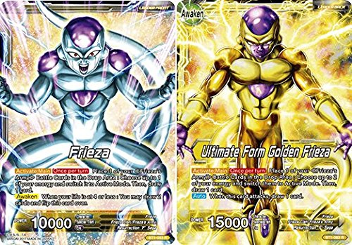 (Dragon Ball Super TCG - Frieza // Ultimate Form Golden Frieza - Series 1 Booster Galactic Battle - (Series 1 Booster: Galactic Battle) - BT1-083)