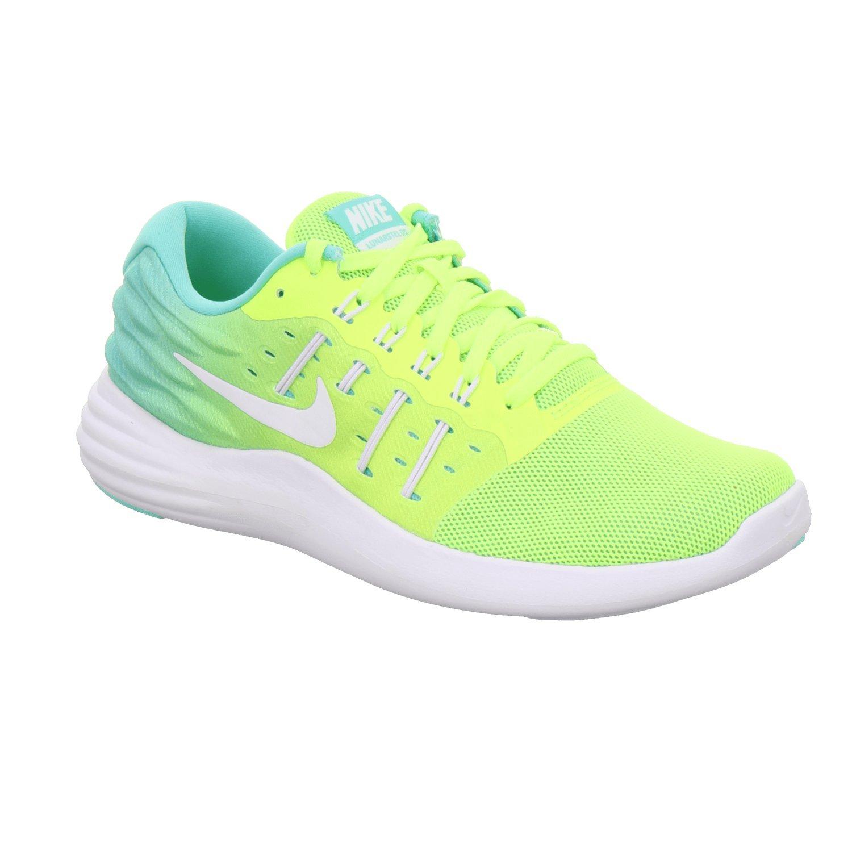 NIKE Women's Lunarstelos Running Shoe B01IPYCWTE 7 B(M) US|Volt/White/Clear Jade
