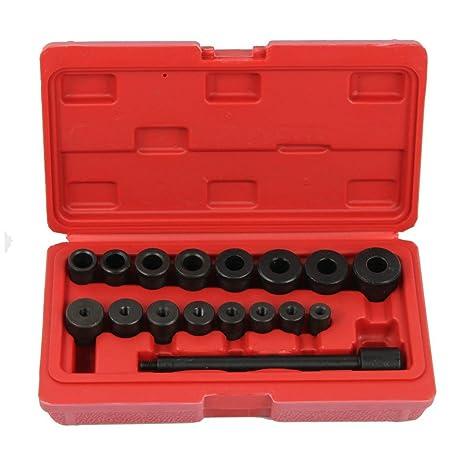 supercrazy 17pcs Universal Kit de herramienta para alinear el embrague sf0047
