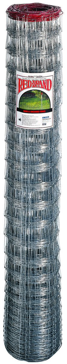 Red Brand Deer & Orchard Fence 48 '' H X 165 ' L Galvanized Steel