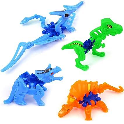 German Trendseller® 6X Figuras de Dinosaurios┃para ...