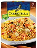 Carretilla Authentic Spanish Paella, Ready-made Seafood Paella, Traditional Paella Instant Microwave Rice, Paella Original Recipe marinera