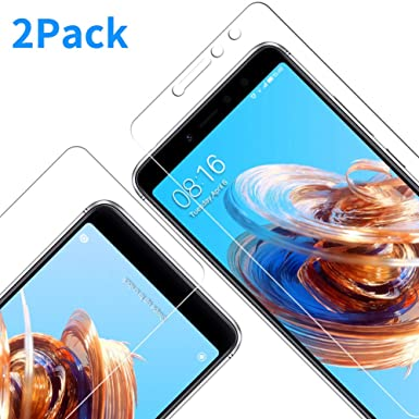 Vkaiy [2 pack Xiaomi Redmi S2 Screen Protector, Premium 0 33mm 9H 3D Touch  Tempered Glass Film for Xiaomi Redmi S2
