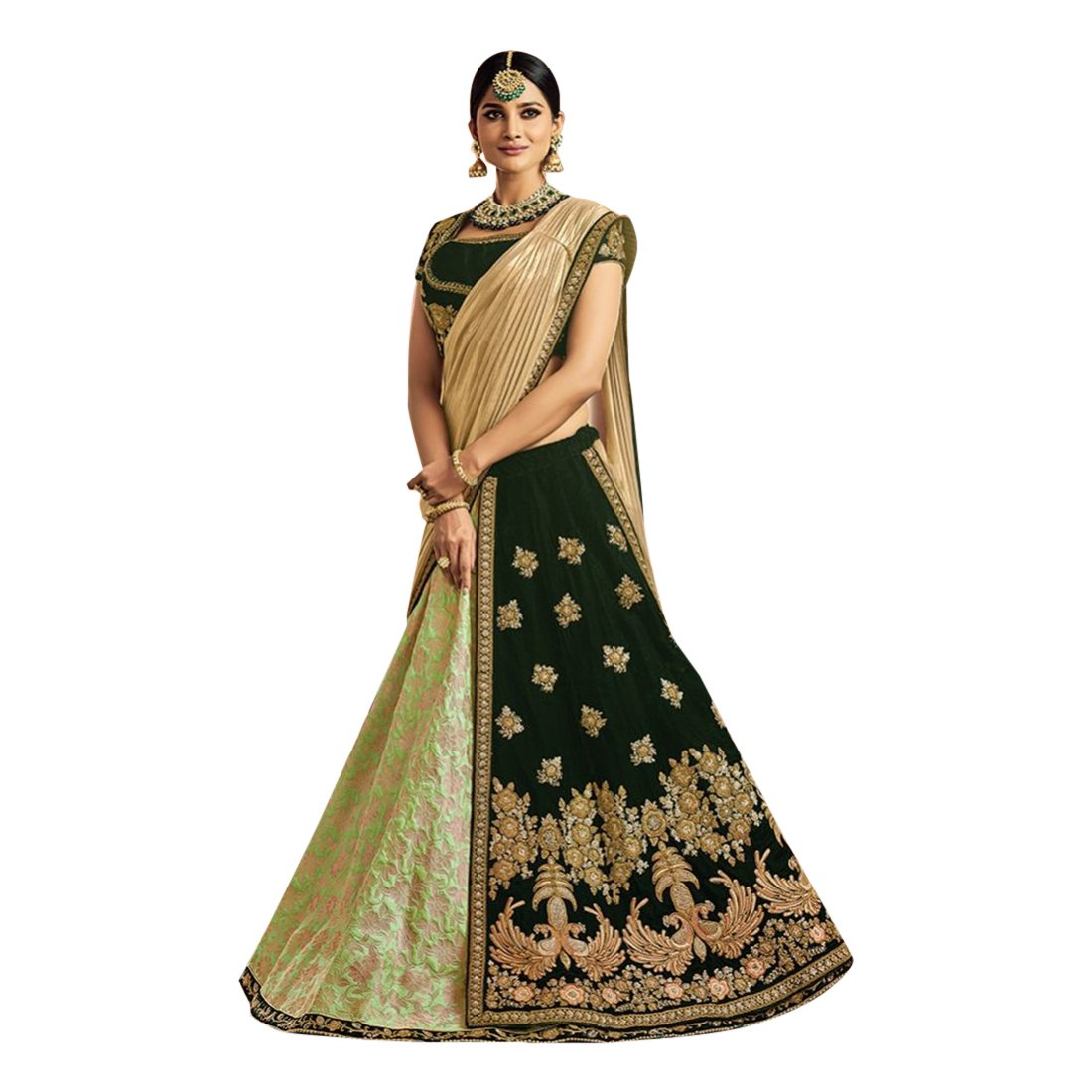 1881b904afacbc Amazon.com: New Arrivals Wedding Collection Of Designer Stylish Pattern  Lehenga Ghagra Choli Bollywood Dupatta Custom to Measure Muslim Eid 2767:  Clothing