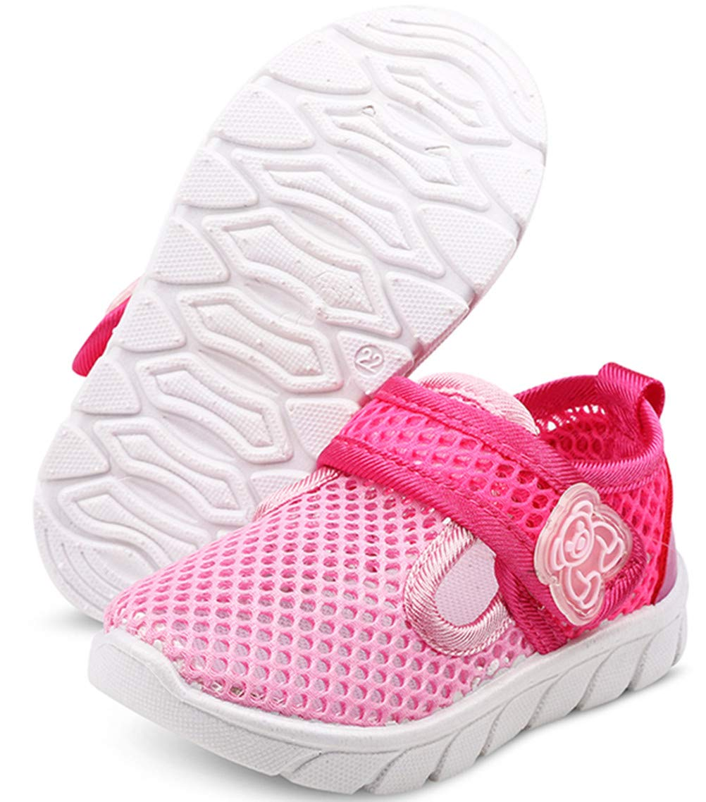 DADAWEN Baby's Boy's Girl's Water Shoes Lightweight Breathable Mesh Running Sneakers Sandals 71212