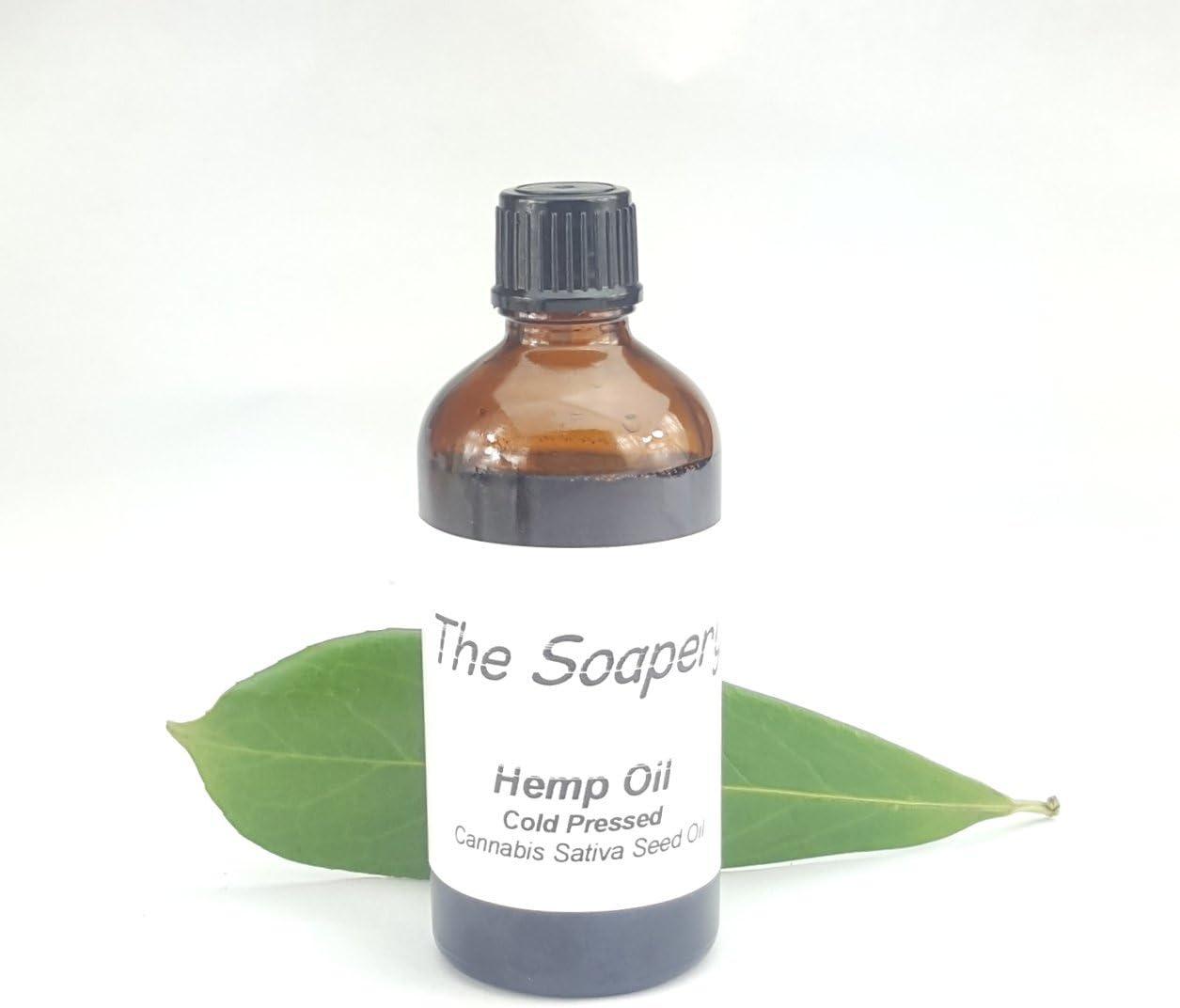 Aceite Vegetal de Semillas de Cáñamo 100ml - 100% puro, virgen, prensado en frío, vegano