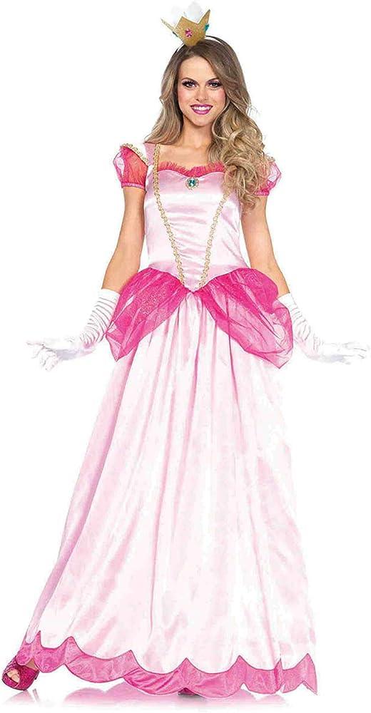 Women's 2 Piece Classic Pink Princess Costume