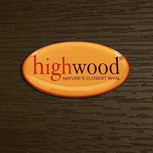 Highwood Lehigh Backless Bench, 5 Feet, Weathered Acorn