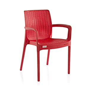 varmora Designer Esquire Chair red Color Single pc