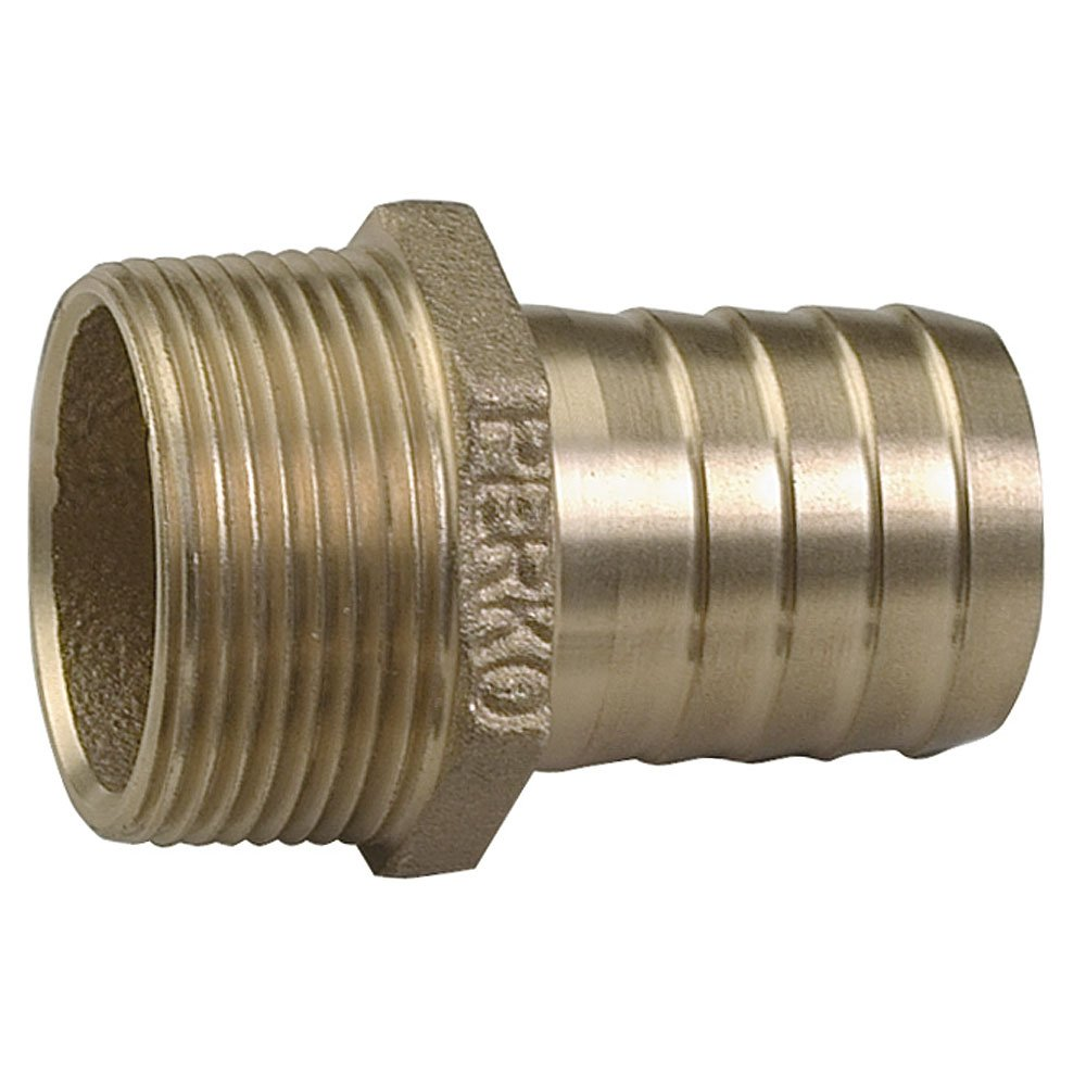 Perko 2'' Pipe To Hose Adapter Straight Bronze MADE IN THE USA