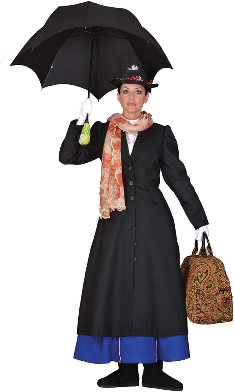 Largemouth Deluxe - Disfraz de Nanny Victoriana Inglesa para ...