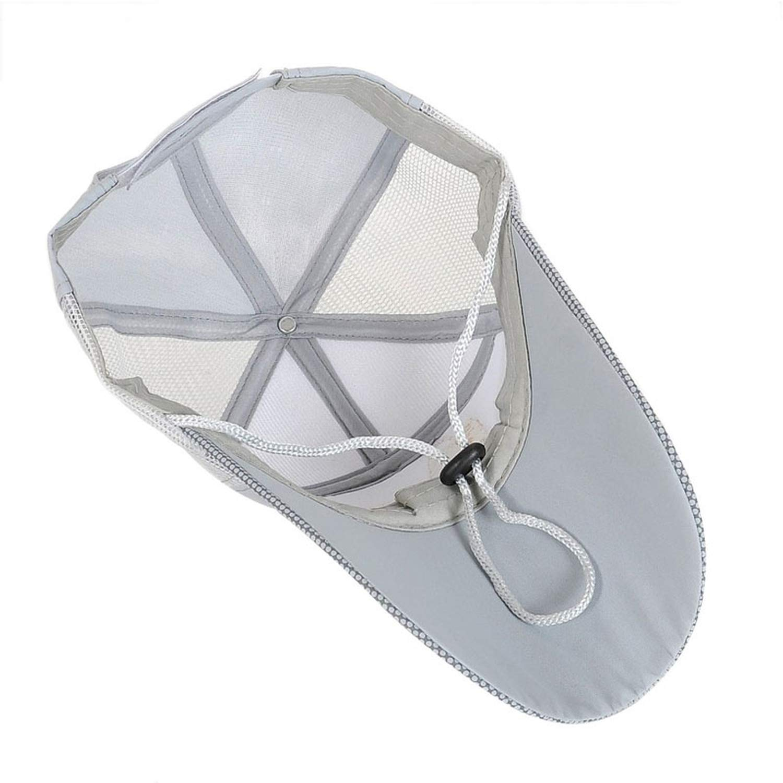 Unisex Men Women Adjustable Fishing Cap Snapback Sports Hat Sun Visor Black,White,Blue,Beige,Grey