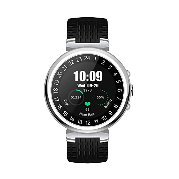 Amazon.com: 3G WIFI Smart Watch, Android 5.1 OS,smartwatch ...