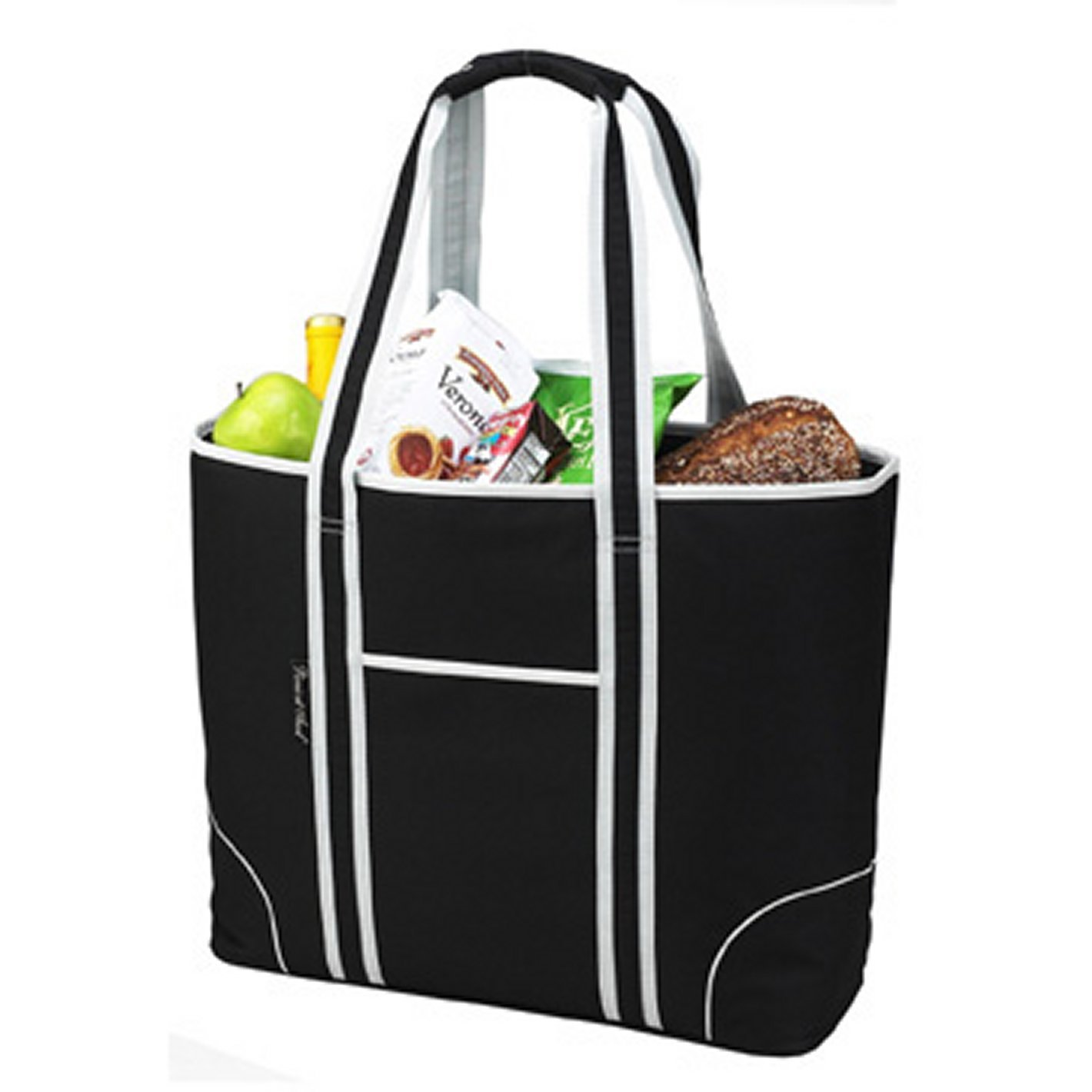 f576d9c2c93 Amazon.com: Picnic at Ascot Extra Large Insulated Cooler Bag - 30 Can Tote  - Black: Reusable Lunch Bags: Kitchen & Dining