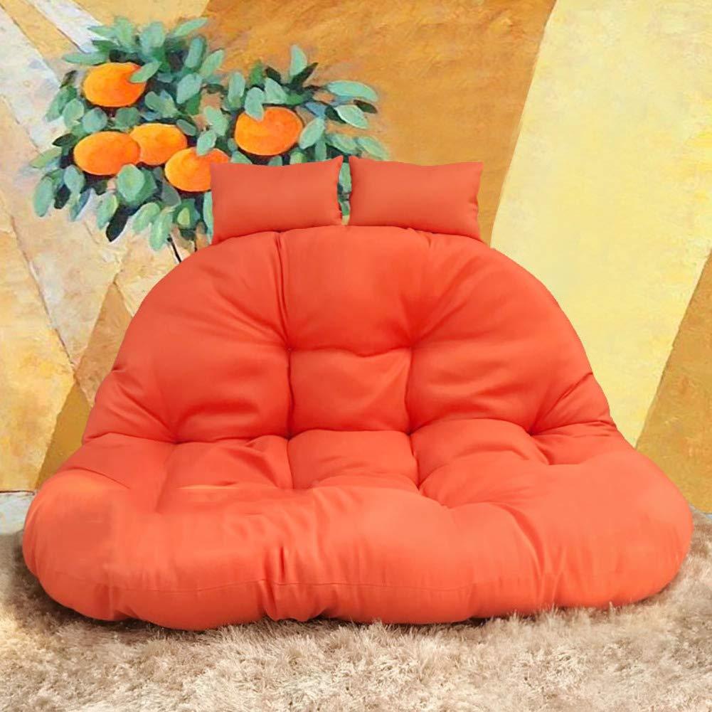 DULPLAY スイングシートクッション 厚いダブルノンスリップネストハンギングチェアバック 椅子なし 洗濯可能 117x45cm(46x18inch) DULPLAY 117x45cm(46x18inch) L B07NZX3Q1L