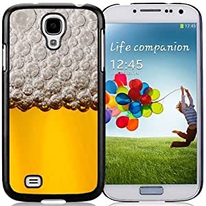 New Beautiful Custom Designed Cover Case For Samsung Galaxy S4 I9500 i337 M919 i545 r970 l720 With The Beer Phone Case