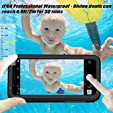 iPhone X Case,iPhone X Waterproof Case,Shockproof Dropproof Snowproof Dirtproof Case IP68 Certified Underwater Full Sealed Protective Phone Cover with Built-in Screen Protector for iPhone 10/iPhone X