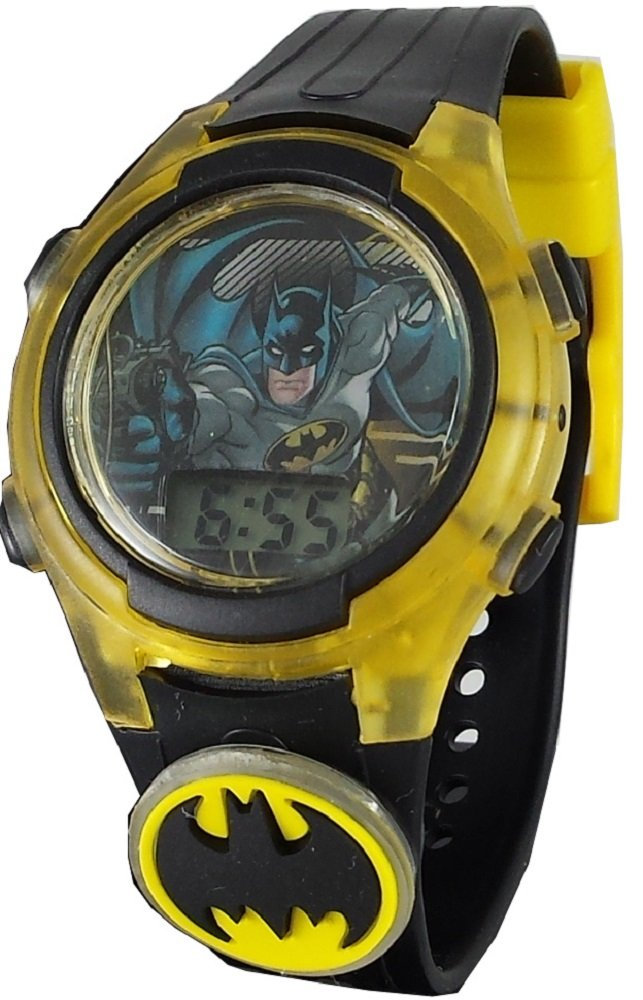 Batman Kid's Digital Light up Watch with Removable Light up Charm