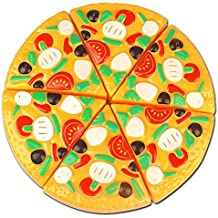 Vi.yo Children Kitchen and Food Toys for Kids Pizza 6 Pcs