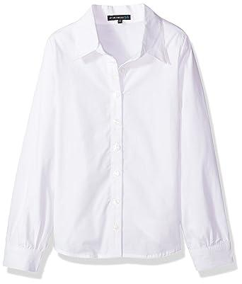 7d1e0151e1 Amazon.com  My Michelle Girls  Button Front Shirt  Clothing
