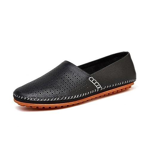 HUAN Zapatos Para Hombres Cuero Primavera Verano Otoño Comfort Mocasines y Slip-Ons Zapatos Para
