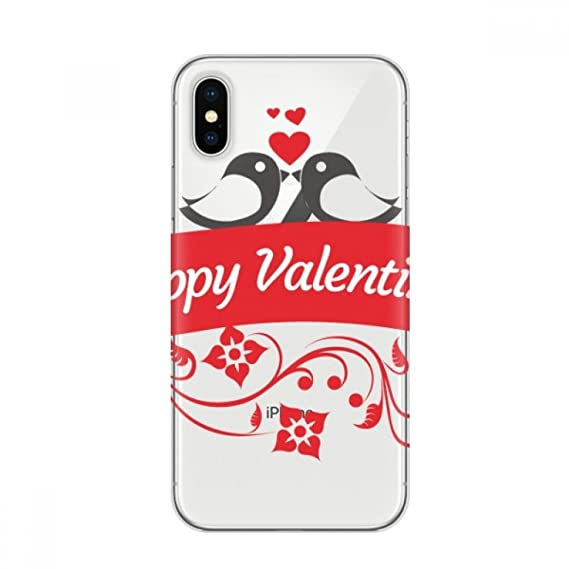 Amazon Com Love Birds Happy Valentine S Day Apple Iphone X Phone