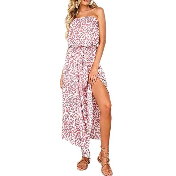 Kleid damen Kolylong® Frauen Elegant Blumen Ärmellose Kleid