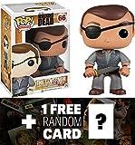 "The Governor: ~4"" Funko POP! x Walking Dead Vinyl Figure + 1 FREE Official Walking Dead Trading Card Bundle"
