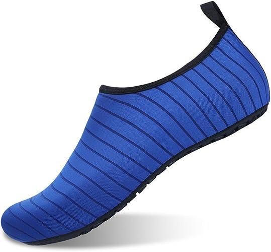 APTRO Chaussures Aquatiques Femme Homme Chaussures d'eau