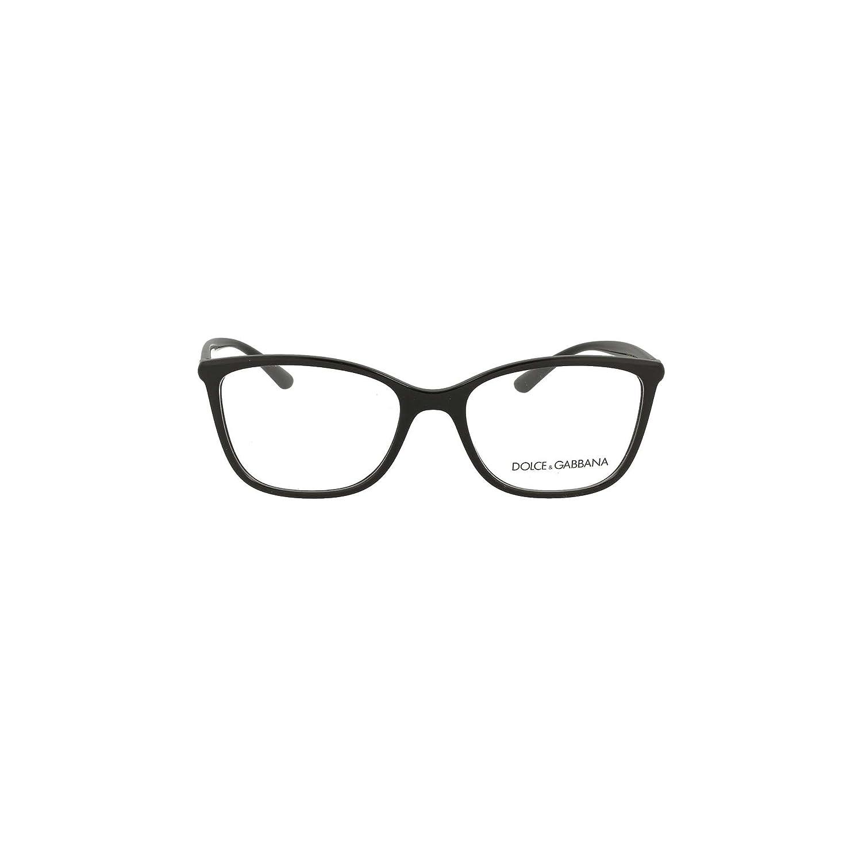 f9ee4bf06f99 Amazon.com  Eyeglasses Dolce   Gabbana DG 5026 501 BLACK  Clothing