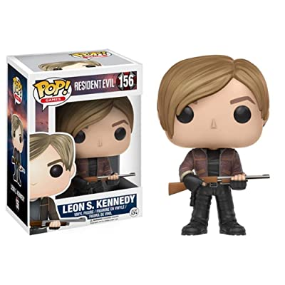 WWZL Resident Evil Leon Kennedy POP Figure Boxed Gift PVC Statue/10CM: Home & Kitchen