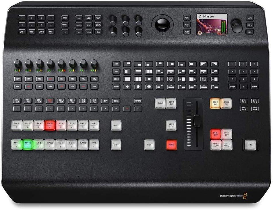 Blackmagic Design Atem Television Studio Pro 4k Bnc Amazon Co Uk Electronics