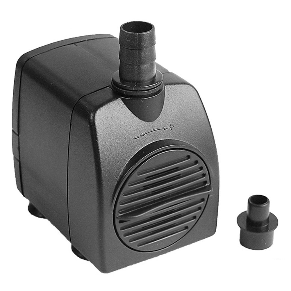 CHENGAIEU Mini Bomba de Agua Sumergible AC 220V 800L/H Max. 1,6M para Fuente, Acuario,Pecera,Jardín: Amazon.es: Bricolaje y herramientas