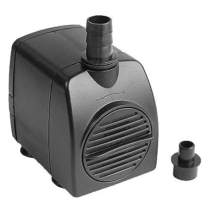 CHENGAIEU Mini Bomba de Agua Sumergible AC 220V 800L/H Max. 1,6M
