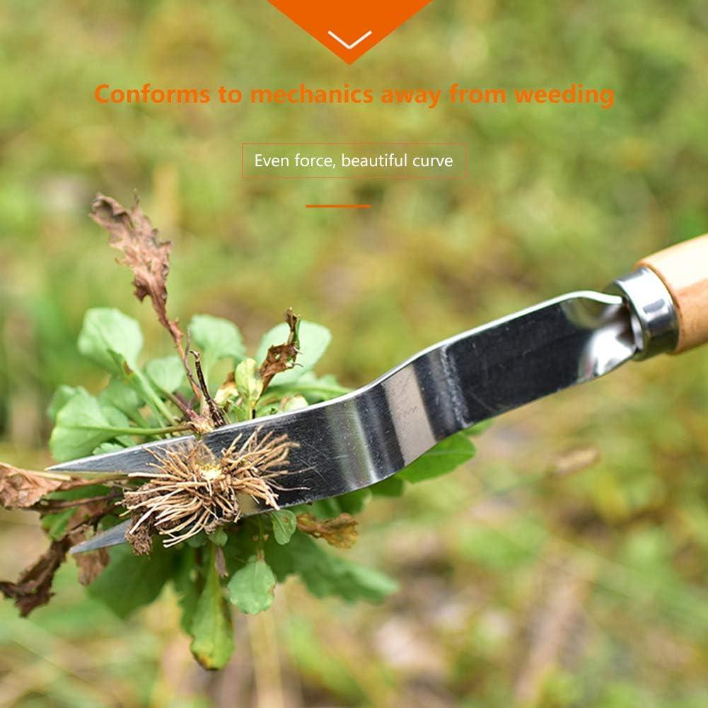 Fuxjlzpbog Weeding Tool Garden Weeding Fork Manual Weed Puller Hand Tool Garden Outdoor Removal Farmland Puller Dandelion Manual Digging Lawn Weeder Transplant Humpback : Garden & Outdoor