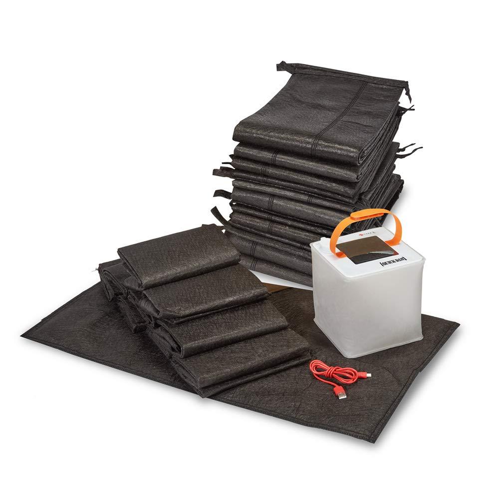 Quick Dam QDERLKIT Emergency Home Flood Prevention Kit, Black, 23 Piece by Quick Dam