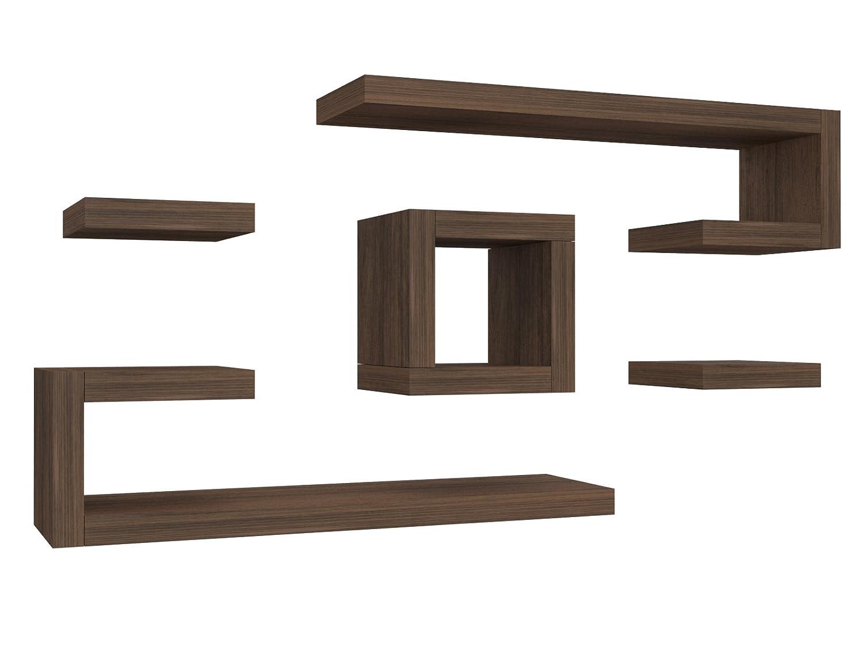 Legno Bianco Frassinato : Ve italy mensola composizione ilary cm in legno arredo casa
