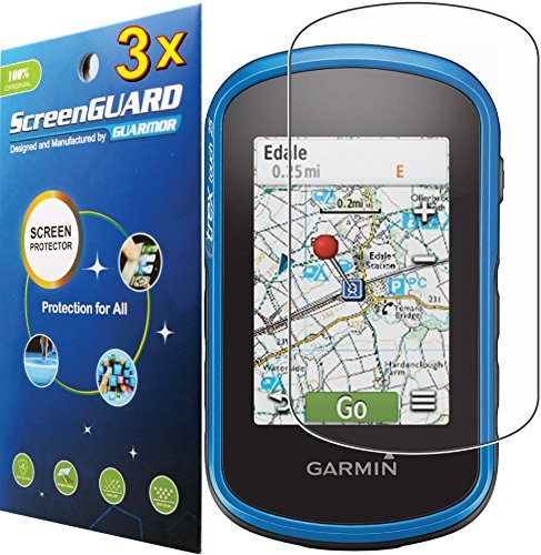 3pcs Premium Clear LCD Screen Protector Guard Film for Garmin eTrex 25 35 35t Handheld GPS