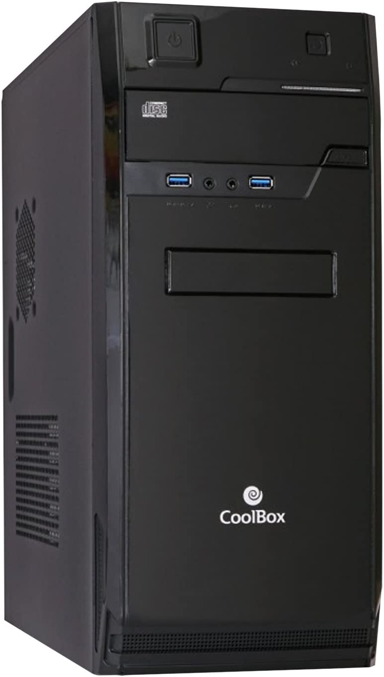 CoolBox F70 Torre 300W Negro Carcasa de Ordenador - Caja de Ordenador (Torre, PC, ATX, Negro, Hogar/Oficina, CE): Coolbox: Amazon.es: Informática